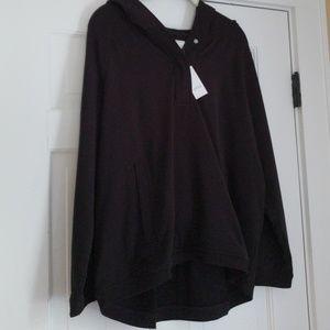 NWT hoodie Lou & Grey XL